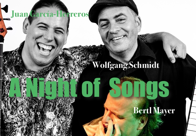 A Night of Songs Garcia Herreros, Wolfgang Schmidt, Bertl Mayer