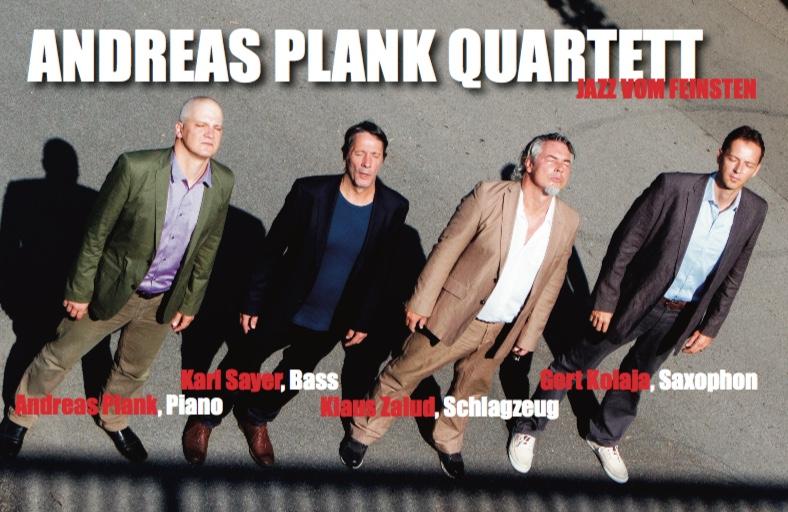 Andreas Plank Quartett Programmfoto