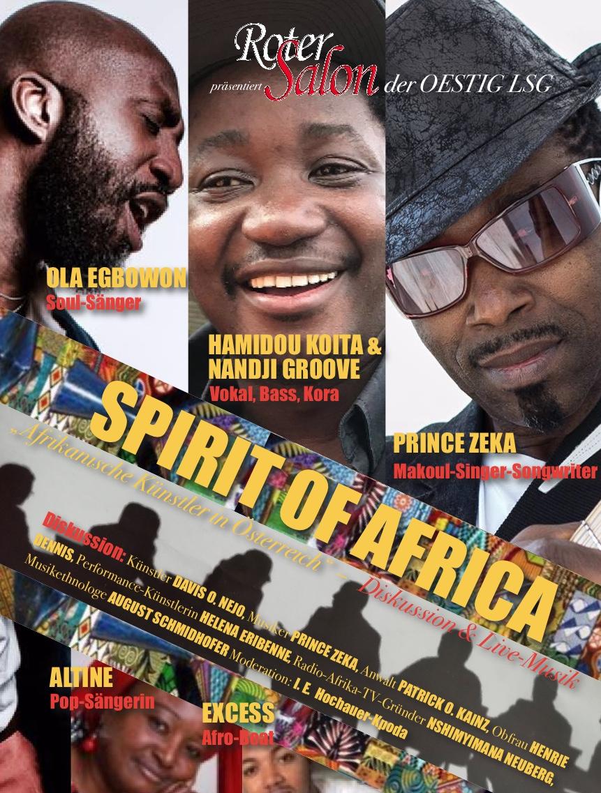 Spirit of Africa Musiker Prgm