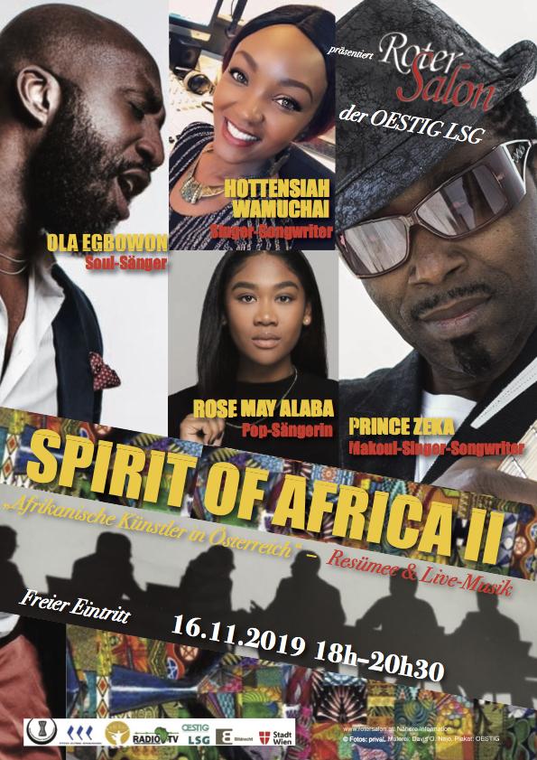 spirit of Africa 16.11.