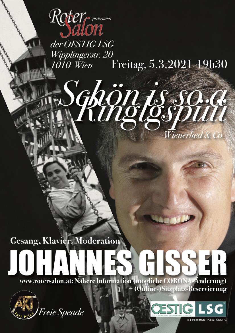 Johannes Gisser Plakat